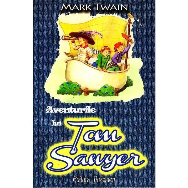 Aventurile lui Tom Sawyer - Mark TwainSoarta e foarte cruda cu Tom matusa Polly il pedepseste la fiecare pas frumoasa Becky il tradeaza orele de la scoala sunt lungi iar el tanjeste dupa libertate Asa ca intr-o zi se hotaraste sa fuga de-acasa si sa se faca pirat Sa vada ei atunci toti cei care l-au necajit cat ii vor mai simti lipsa