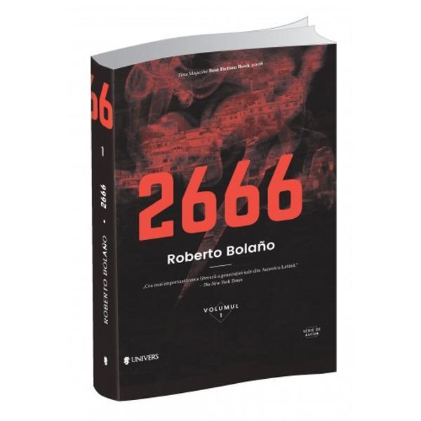 Romanul2666este scris în ultimii trei ani ai lui Bolaño într&8209;o curs&259; contra cronometru cu moartea Alc&259;tuit din cinci p&259;r&355;i pe care autorul într&8209;o încercare de a asigura viitorul financiar al copiilor s&259;i le inten&355;iona publicate drept cinci romane separate2666a ap&259;rut totu&351;i drept o singur&259; carte valoarea literar&259; a