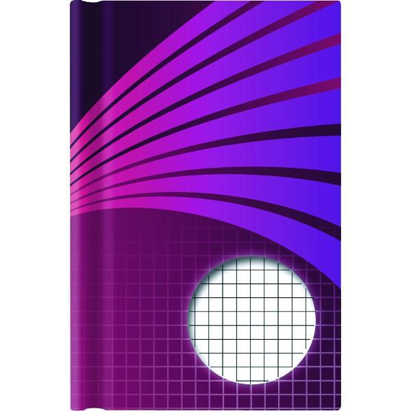 Carnetel cartonat A6 matematicaFormat 11x155 cmContine 192 pagini