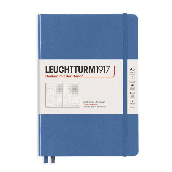 Notebook-uri cu coperta rigida de marime medie A5 cu 249 pagini numerotate 125 file hartie de 80g hartie ivory