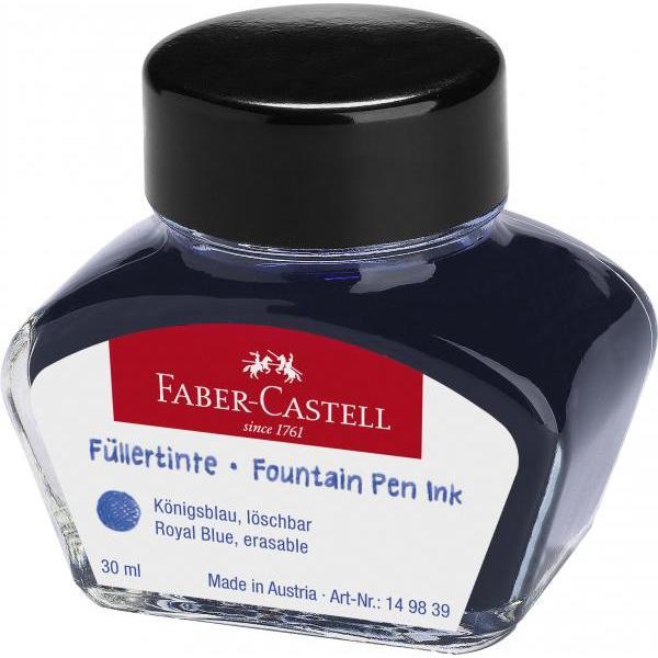 › c&259;limar&259; din sticl&259; groas&259; rezistenta la &537;ocuri› pigmenti de calitate culoare albastru› 30 ml cerneala
