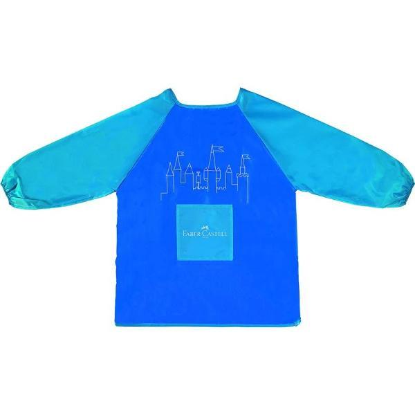 Cu maneca lunga ideal pentru la scoala si acasa buzunar frontal calitate excelenta protejeaza hainele de lipici coloranti sau lichide marime unica pentru copii cu varste intre 6 si 10 ani