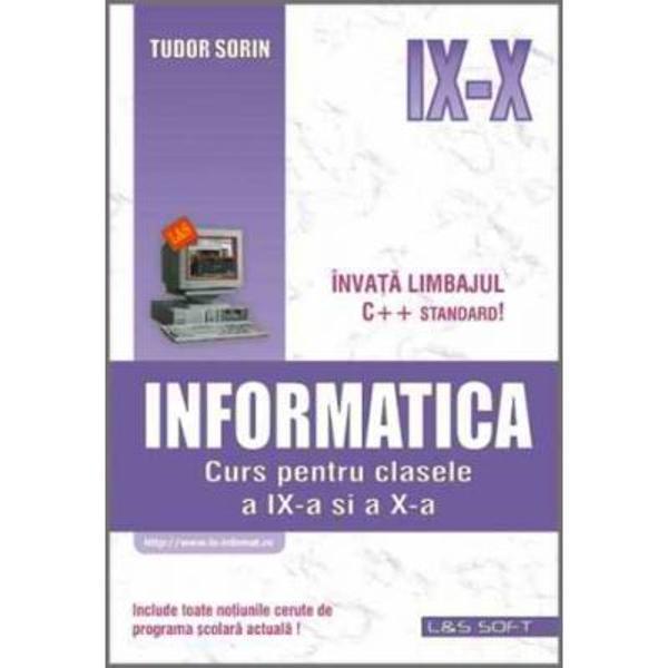 Informatica curs pentru clasele IX-X