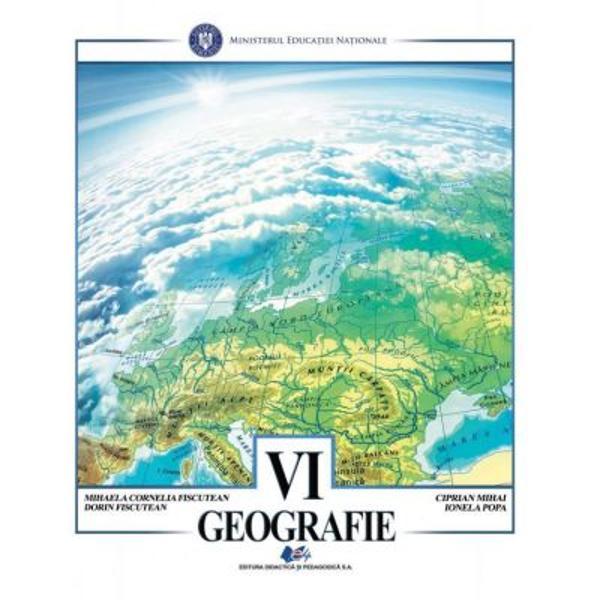 Manual geografie clasa a VI a editia 2020