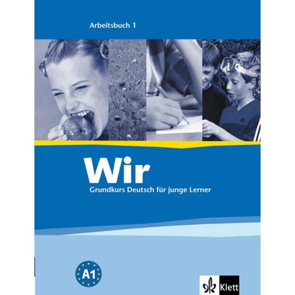 Das Arbeitsbuch enthält- eine Liste zum Kursvokabular Unterrichtssprache- Schreibaufgaben für die Hausarbeit weitere kommunikative und spielerische Aufgaben Aufgaben zur Rechtschreibung- ein integriertes Wörterheft mit dem Lernwortschatz im Kontext und Schreiblinien für dieÜbersetzung durch die Lernenden