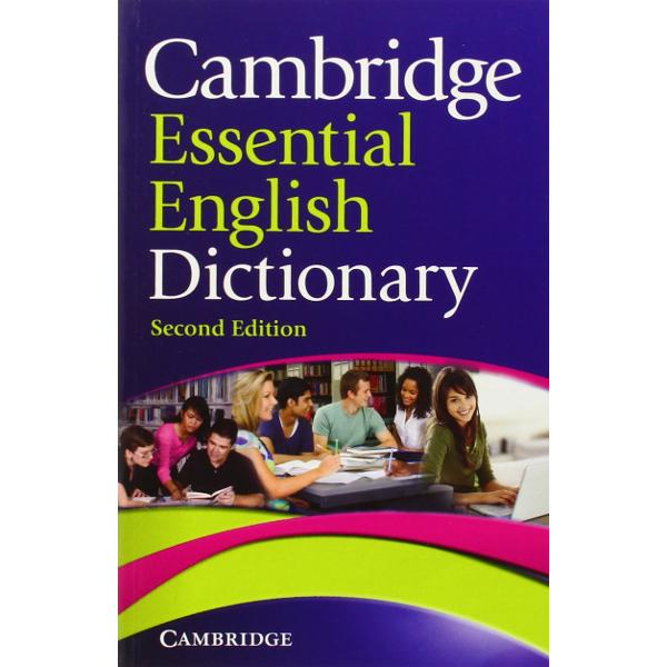 A small low-level monolingual English dictionary for beginners and pre-intermediate learners of English Using a learners dictionary for the first time can be daunting but the Cambridge Essential English Dictionary makes that first step easier for learners with short definitions that are easy to understand and lots of example sentences to put the language into context Mapped to a ground-breaking research programme English Profile this brand new edition of the Cambridge Essential