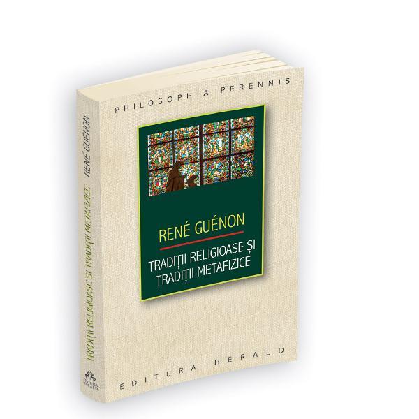 Aveti in mana o enciclopedie sub forma unei culegeri de texte guenoniene care traverseaza cele mai influente arii ale spiritualitatii din istoria civilizatiei umane cartea detaliaza pe de-o parte ideile de fundament ale traditiei abrahamice de consistenta religoasa &8210; iudaism crestinism si islam &8210; si surprinde pe de alta parte esenta filonului ezoteric reprezentat de hinduism si daoismPrin viziunea de altitudine pe care a oferit-o culturii europene despre cele mai