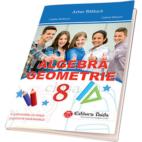 Lucrarea compartimentat&259; pe capitole pe unit&259;&355;i de înv&259;&355;are &351;i chiar pe lec&355;ii grupeaz&259; elementele de con&355;inut ale programei &351;colare actuale cu respectarea logicii interne de dezvoltare a conceptelor matematice &351;i ofer&259; atât elevilor cât &351;i profesorilor lor un volum de exerci&355;ii