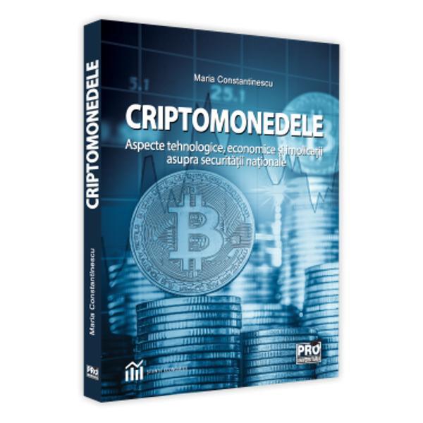 """Scopul acestei c&259;r&355;i este acela de a prezenta o imagine de ansamblu asupra fenomenului criptomonedelor cu accent pe cea mai cunoscut&259; dintre acestea Bitcoin Vom analiza fenomenul atât din punct de vedere al aspectelor tehnice dar &351;i din punctul de vedere al interac&355;iunii dintre criptomonede &351;i """"lumea real&259;"""" Fenomenul criptomonedelor este complex &351;i într-o permanent&259; evolu&355;ie astfel încât aceast&259;"""