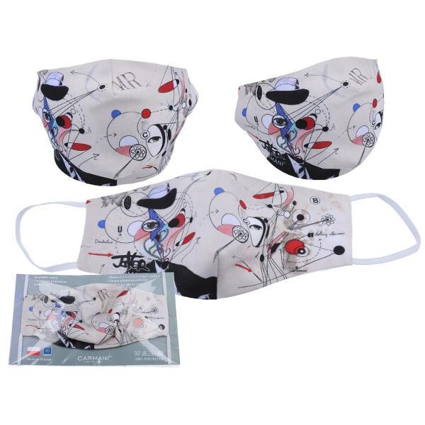 Acest produs nu este un dispozitiv medical si nu inlocuieste o masca profesionala de protectie cu filtre speciale Nu asigura protectie impotriva gazelor sau a altor substante volatile