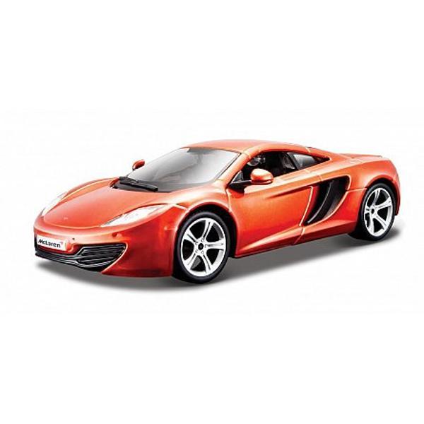 Machetaauto MCLAREN MP4-12C de la Bburagoce copiaza pana in cel mai mic detaliu modelul original este alegerea ideala pentru toti baietii care adora masinutele si sa se joace cu ele ModelulMCLAREN MP4-12Ceste o masina de tip sport coupe in doua usi cu doua locuri realizata de catre producatorul englez de automobile de lux McLaren Automotive Ea a fost lansata in anul 2011 a fost produsa pana in anul 2014 Ea a fost inlocuita de