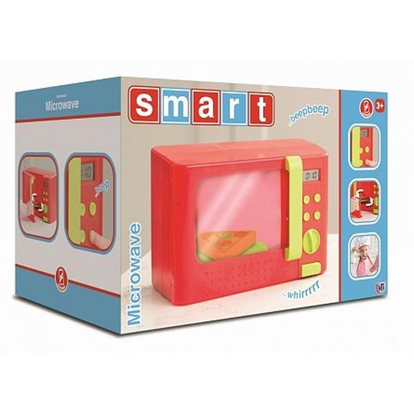 Display-ul realist LCD cu ceas diferite func&539;ii de înc&259;lzire efecte luminoase &537;i de sunet u&537;&259; ce se deschide; plac&259; rotativ&259; face jocul mai atractiv Jocul con&539;ine de asemenea o felie de pizza pentru joaca