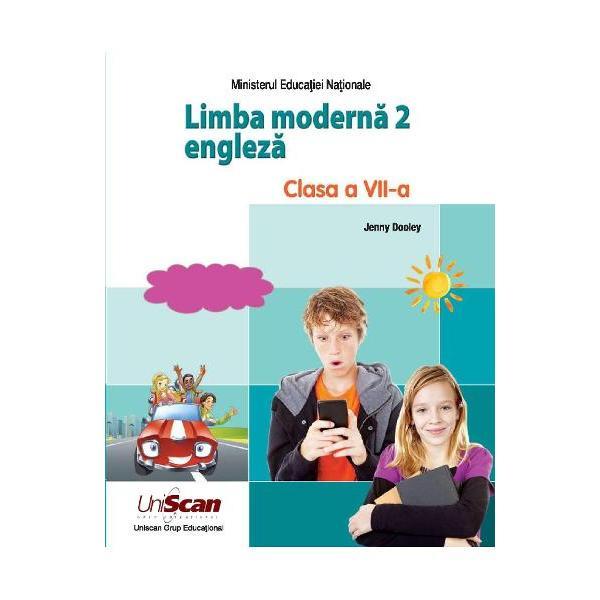 Manual Limba moderna 2 engleza pentru clasa a VII-a adaptare dupa varianta internationala a manualului Spark 3 Manual aprobat MEN 2019