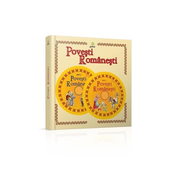"""""""Pove&537;tile române&537;ti"""" dezv&259;luie minunata lume a basmelor culese sau scrise deIon Creang&259;Ioan SlaviciPetre Ispirescu&537;iBarbu &537;tef&259;nescu-Delavrancea Copiii vor g&259;si în interiorul c&259;r&539;ii interactive carduri cu personaje inser&539;ii clapete scrisori inedite &537;i multe alte surprize care vor transforma lectura"""