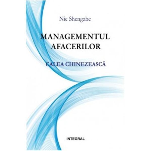 Lucrarea de fa&539;&259; este o premier&259; atât pentru spa&539;iul editorial românesc cât &537;i mediul de afaceri est-european Editura Integral propune o prim&259; carte care trateaz&259; managementul afacerilor dintr-o perspectiv&259; diferit&259; dar de mare succesExist&259; desigur numeroare volume care abordeaz&259; din diverse unghiuri managementul afacerilor &537;i multe