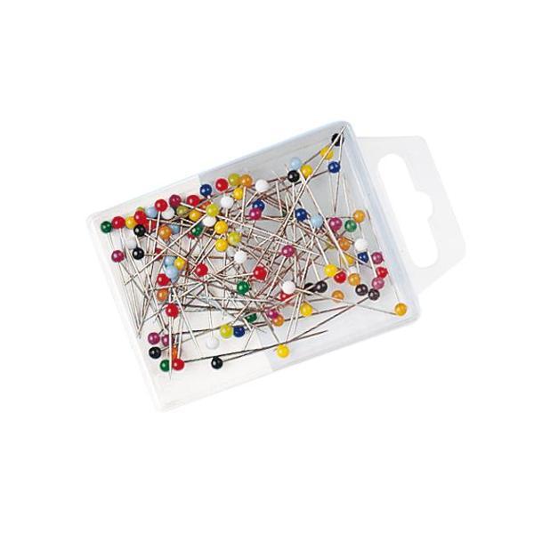 Ace cu gamalie divers colorate 100 buccutieDimensiune ac 30 mmGamalie 3mmAmbalaj cutie din plastic transparent