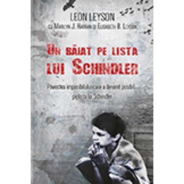 Un baiat pe lista lui Schindler editie de buzunar