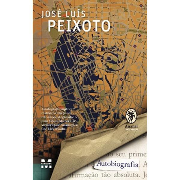 Autobiografiaîmplete&537;te realitatea cu fic&539;iunea într-un joc al oglinzilor ce pune fa&539;&259;-n fa&539;&259; doi mari scriitori José Saramago &537;i José Luís PeixotoÎn Lisabona anilor '90 drumul unui tân&259;r scriitor aflat în plin&259; criz&259; existen&539;ial&259; – similar&259; celei pe care a tr&259;it-o Peixoto însu&537;i – se intersecteaz&259; cu cel al unui