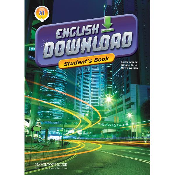 English Download is an exciting new multi-level course The Elementary level is suitable for students working to achieve an A1 level of competence within the Common European FrameworkKey featurestheme-related units each containing carefully developed tasks designed to develop students reading writing listening and speaking skills as well as build on their vocabulary and grammarReload sections one at the end of