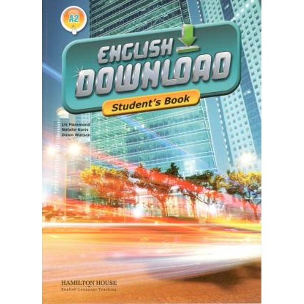 English Download is an exciting new multi-level course The Pre-Intermediate level is suitable for students working to achieve an A2 level of competence within the Common European FrameworkKey featurestheme-related units each containing carefully developed tasks designed to develop students reading writing listening and speaking skills as well as build on their vocabulary and grammarReload sections one at the