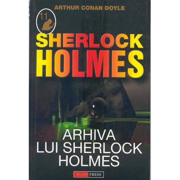 """Arhiva lui Sherlock in original """"The Case-Book of Sherlock Holmes"""" este o colectie finala de 12 povestiri politiste scrise de Sir Arthur Conan Doyle si avandu-l in rolul principal pe faimosul detectivAcestea povestiri scurte au fost publicate initial ca simple povestiri in reviste in perioada 1921-1927 apoi in volum in 1927 editat de John Murray din Angliabr stylecolor"""