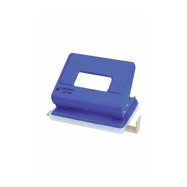 Perforator din metal cu sistem de blocare a clapeiPrev&259;zut cu distan&539;ier &537;i rezervor pentru confetti