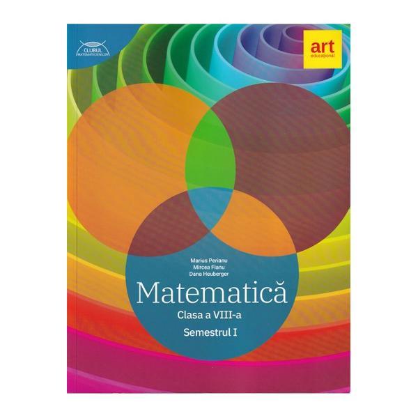Lucrarea a fost realizat&259; în conformitate cu noua program&259; &351;colar&259; pentru disciplina Matematic&259; clasele a V-a- a VIII-a aprobat&259; prin OM nr 339328022017Într-o prezentare grafic&259; nou&259; Clubul Matematicienilor pune la dispozi&355;ia elevilor• o sintez&259; complet&259; a teoriei înso&355;it&259; de exemple• numeroase exerci&355;ii foarte variate &351;i grupate pe niveluri de