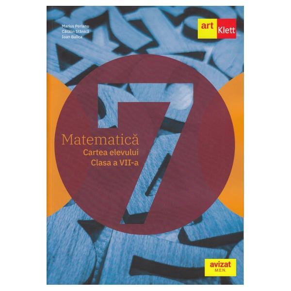 Lucrarea a fost realizat&259; în conformitate cu noua program&259; &351;colar&259; pentru disciplina Matematic&259; clasele a V-a- a VIII-aaprobat&259; prin OM nr 339328022017Matematic&259; Clasa a VII-aCe propuneaceasta carteCartea esteîspan