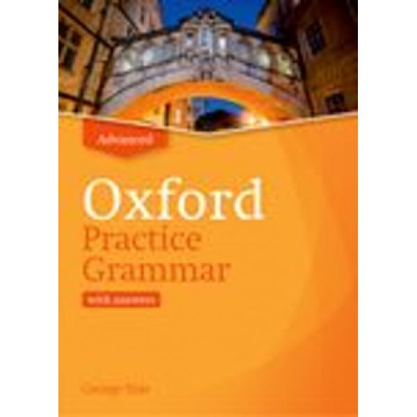 The third level in the Oxford Practice Grammar series Grammar structures are explained in depth with practice activities that stretch your language skillsOxford Practice Grammar knows that students need different types of explanation and practice at each stage of their study Advanced gives challenging practice activities and in-depth explanations Great for classroom or self-study and it helps you prepare for standard exam questions asked in C1 Advanced C2 Proficiency