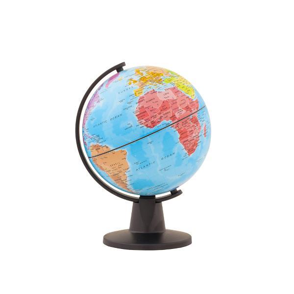 Un glob pe care il puteti pune in buzunar In interior veti gasi tot ce aveti nevoie o baza si un meridian Este usor de asamblat si usor de demontat Harta politica cu 5 continente vizibile dintr-o privire