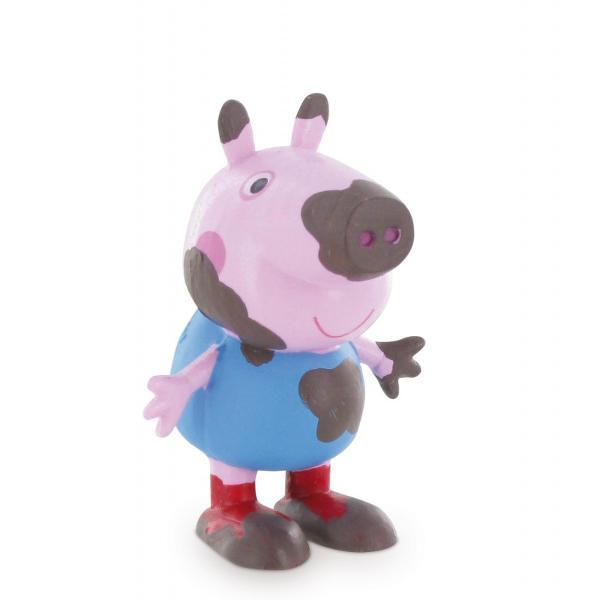 Peppa Pig este un serial indragit de animatie Vedeta serialului este Peppa aceasta locuieste impreuna cu fratiorul ei George si cu parintii saiMummy Pig and Daddy Pig-Dimensiuni 55 cm-Varsta recomandata 3ani