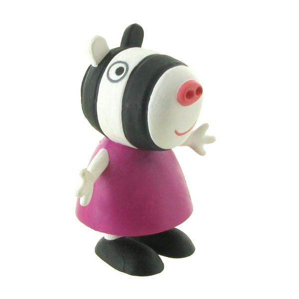 Peppa Pig este un serial indragit de animatie Vedeta serialului este Peppa aceasta locuieste impreuna cu fratiorul ei George si cu parintii saiMummy Pig and Daddy Pig-Dimensiuni 6 cm-Varsta recomandata 3ani