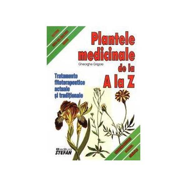 In aceasta carte sunt prezentate peste 400 plante medicinale