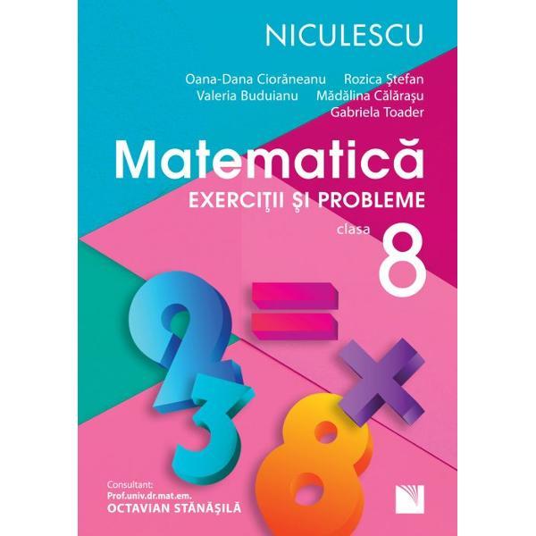 Matematica clasa a VIII a Exercitii si probleme