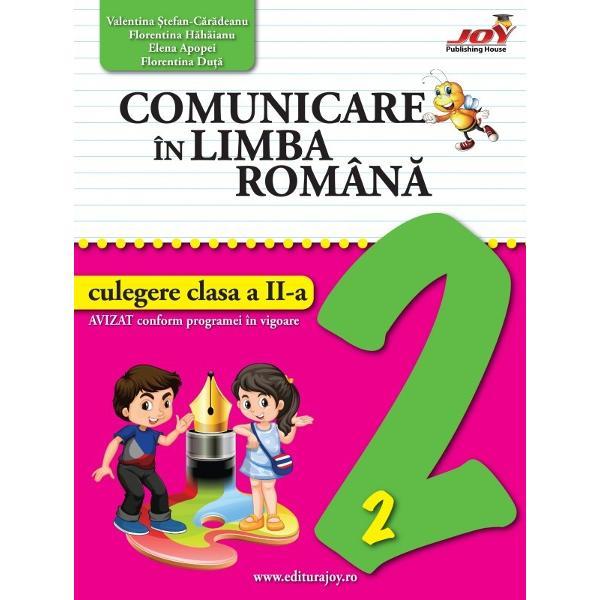 Comunicare in limba rimana Culegere clasa a II a