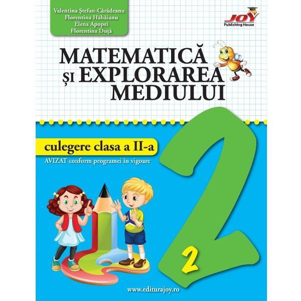 Matematica si explorarea mediului Culegere clasa a II a