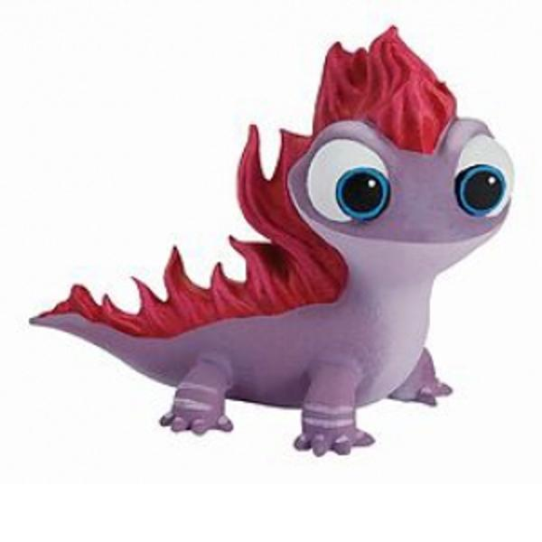Spiritul Focului este intruchipat in filmul Frozen 2 de simpatica salamandra Bruni care atunci cand se supara devine un mic animal de foc lasand flacari viu colorate in urma saDimensiune produs 6 cmVarsta recomandata de la 3 ani