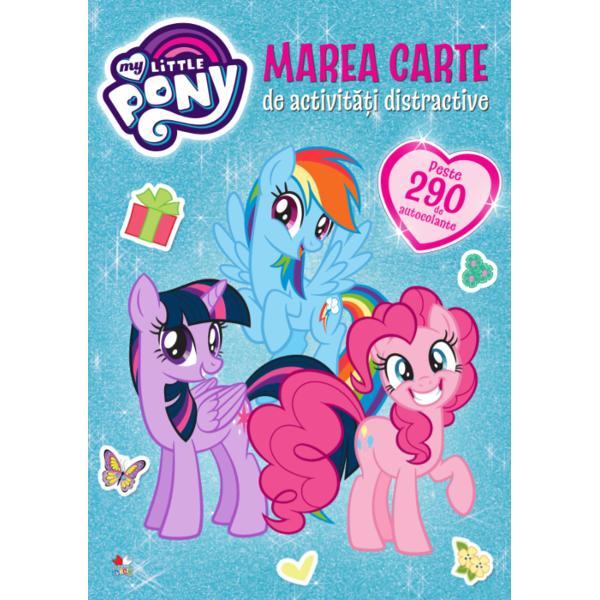 Al&259;tur&259;-te prietenelor tale preferate din My Little Pony în aceast&259; carte minunat&259; cu autocolanteFii creativ&259; al&259;turi de Twilight Sparkle Rainbow Dash Pinkie Pie Fluttershy Applejack Rarity &351;i desigur Spike În aceast&259; carte te a&351;teapt&259; o mul&355;ime de activit&259;&355;i de colorat &351;i de desenat – plus aproape 300 de autocolante