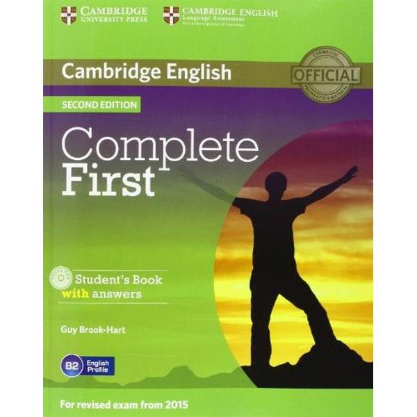 Complete First provides thorough preparation for the revised 2015 Cambridge English First FCE exam It combines the very best in contemporary classroom practice with first-hand knowledge of the challenges students face This course provides comprehensive language development integrated with exam-task familiarisation There are exercises to help students avoid repeating the typical mistakes that real exam candidates make as revealed by the Cambridge Learner Corpus This topic-based course