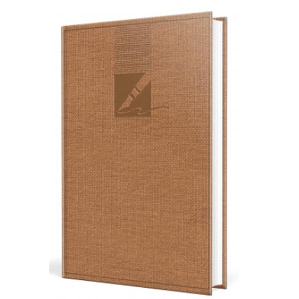 Agenda nedatata A6 352 pagini culoare maro