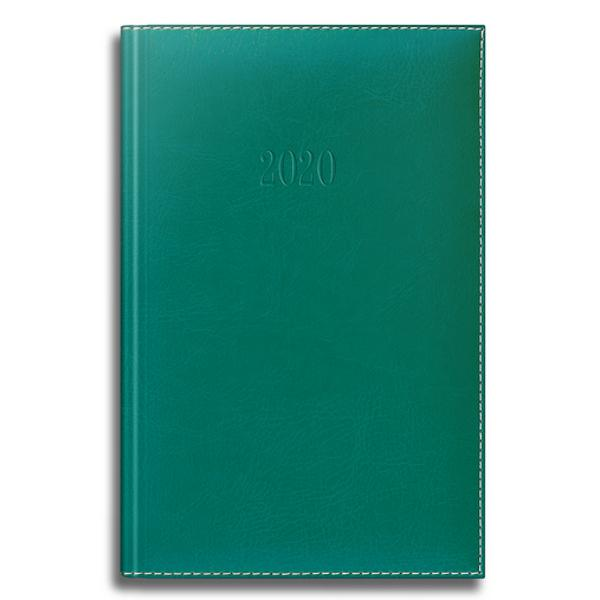Agenda A5 Datata 352 File de Lux verde 2020 9479730 este un produs Herlitz si face parte din categoriaagendeAgenda de fata are 352 pagini hartie chamois 80grmp colturi perforate coperta din piele sintetica termosensibila dimensiune 148mmx209mm 1 zi  1 pagina model De Luxe culoare verde
