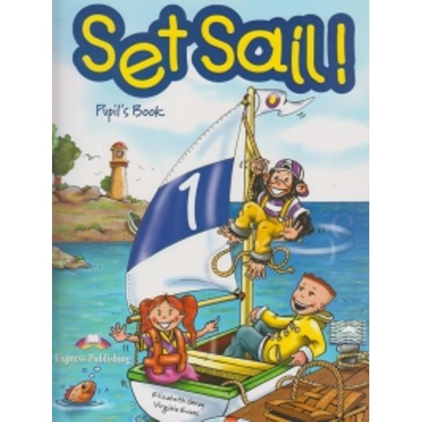 SET SAIL is a two-level course for teaching English at early primary levels Young learners will be captivated by the adventures of Lulu Larry and their pet chimp Chucklesspan