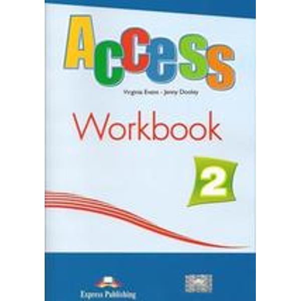 Caietul de activit&259;&355;i aferent manualului Access 2 nivel elementary urmeaz&259; temele modulelor din Student&8217;s Book &351;i con&355;ine exerci&355;ii de consolidare a vocabularului a gramaticii a abilit&259;&355;ilor de listening speaking &351;i writing Include liste finale cu verbele neregulate &351;i cu noile cuvinte &238;nso&355;ite de transcrierea fonetic&259;