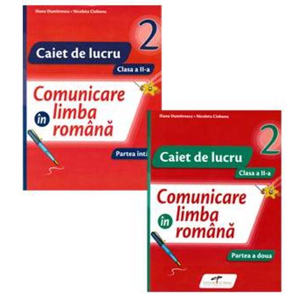 Comunicare in limba romana Set caiet de lucru clasa a II aCaietul de lucru se adreseaz&259; elevilor dinclasa a II-a&351;i contribuie la exersarea si consolidarea cunostin&355;elor dobandite la disciplinaComunicare în limba român&259;    Caietul face parte din seria JUNIOR STAR &537;i r&259;spunde cerin&539;elor programei &537;colare