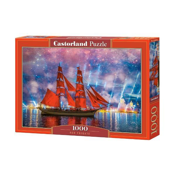 Puzzle Castorland Fregata RosieDimensiune ambalaj 35 x 25 x 5Dimensiune puzzle asamblat 68 x 47 cm