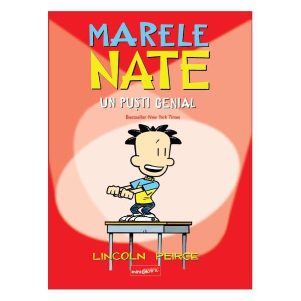 Marele Nate e un pu&537;ti genial - genial la inventat n&259;zdr&259;v&259;nii Mereu pus pe glume mereu cu un r&259;spuns iste&539; pe buze Nate e b&259;ie&539;elul de 11 ani al&259;turi de care nu ai cum s&259; te plictise&537;ti Probleme cu &537;coala colegii sau temele de vacan&539;&259; - el trece peste toate cu mult umor &537;i creativitate O band&259; desenat&259; minunat&259; pentru to&539;i fanii lui Nate dar &537;i pentru cei care acum îl