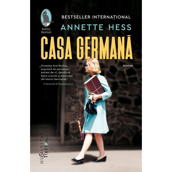 Romanul de debut al str&259;lucitei scenariste Annette Hess s-a impus printre cele mai apreciate c&259;r&539;i ale anului 2018 publicate în Germania Bestseller interna&539;ional este tradus în peste dou&259;zeci &537;i cinci de &539;&259;ri Abordând cea mai dificil&259; parte a istoriei germane din secolul XX captiveaz&259; prin actualitatea temei prin dozajul fin între saga de familie &537;i desf&259;&537;urarea primului eveniment major care a adus