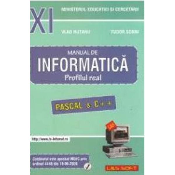 Informatica real neintensiv - clasa a XI-a