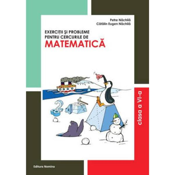 Volumul este un manual pentru excelenta&131; la matematica&131; Prin suportul lui tematica abordata&131; si gradul de complexitate al problemelor acest volum se adreseaza&131; profesorilor si elvilor care au drept pasiune stiinta matematicii ISBN  978-606-535-351-0 Autor  Petre Na&131;chila&131; Pagini  208