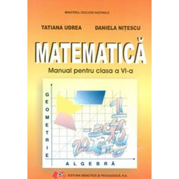 Matematica clasa a VI-a 2013